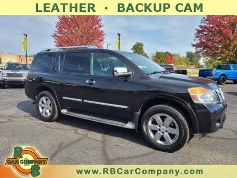 2013 Nissan Armada for sale at R & B Car Company in South Bend IN