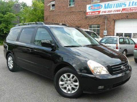 2006 Kia Sedona for sale at Rusak Motors LTD. in Cleveland OH