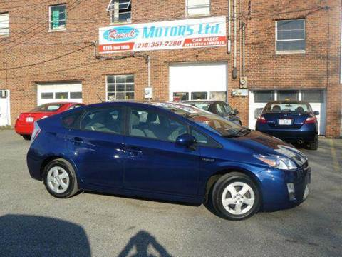 2011 Toyota Prius for sale at Rusak Motors LTD. in Cleveland OH