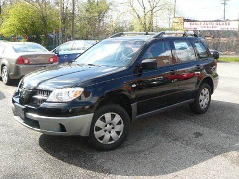 2005 Mitsubishi Outlander for sale at Rusak Motors LTD. in Cleveland OH