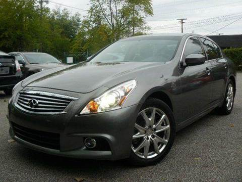 2010 Infiniti G37 for sale at Rusak Motors LTD. in Cleveland OH