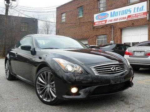 2011 Infiniti G37 Coupe for sale at Rusak Motors LTD. in Cleveland OH