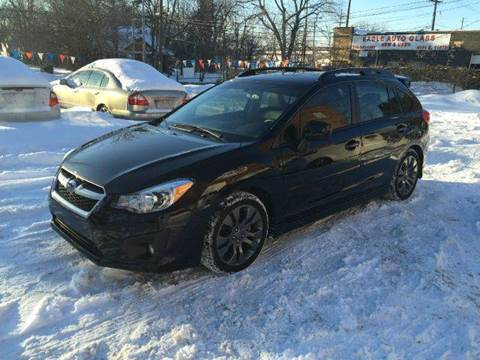 2014 Subaru Impreza for sale at Rusak Motors LTD. in Cleveland OH