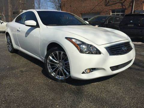 2014 Infiniti Q60 Coupe for sale at Rusak Motors LTD. in Cleveland OH