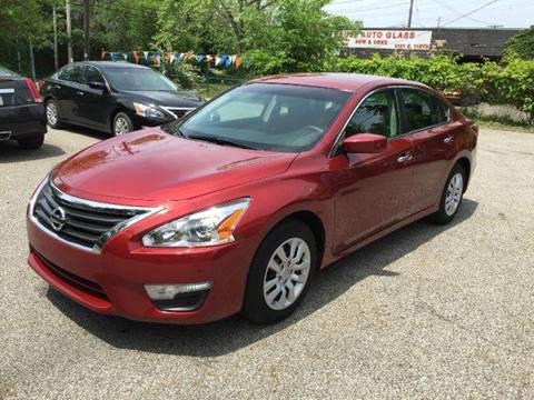 2013 Nissan Altima for sale at Rusak Motors LTD. in Cleveland OH