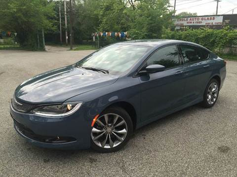 2015 Chrysler 200 for sale at Rusak Motors LTD. in Cleveland OH