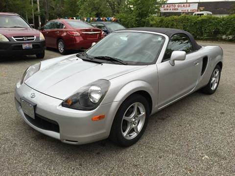 2000 Toyota MR2 Spyder for sale at Rusak Motors LTD. in Cleveland OH