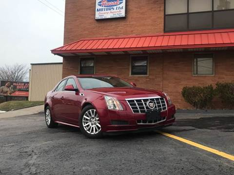 2012 Cadillac CTS for sale at Rusak Motors LTD. in Cleveland OH