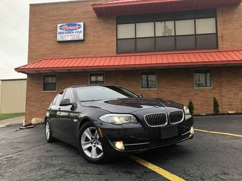 2013 BMW 5 Series for sale at Rusak Motors LTD. in Cleveland OH