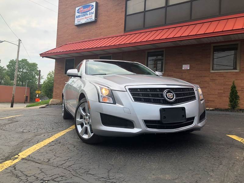 2014 Cadillac ATS for sale at Rusak Motors LTD. in Cleveland OH