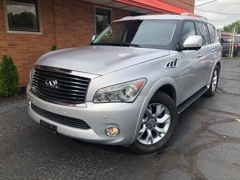 2013 Infiniti QX56 for sale at Rusak Motors LTD. in Cleveland OH
