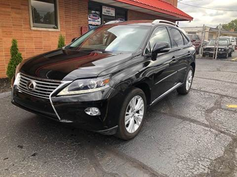 2014 Lexus RX 350 for sale at Rusak Motors LTD. in Cleveland OH