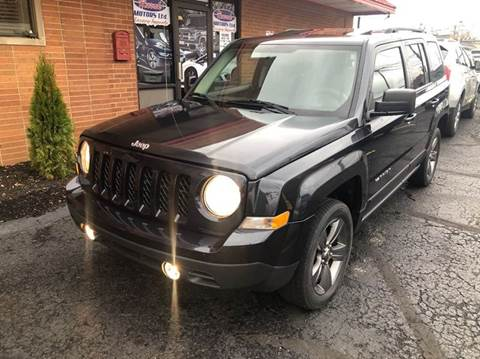 2015 Jeep Patriot for sale at Rusak Motors LTD. in Cleveland OH