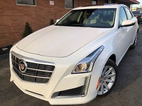 2015 Cadillac CTS for sale at Rusak Motors LTD. in Cleveland OH