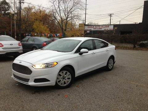 2013 Ford Fusion for sale at Rusak Motors LTD. in Cleveland OH