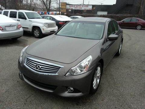2011 Infiniti G37 for sale at Rusak Motors LTD. in Cleveland OH