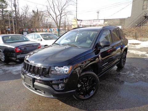 2012 Jeep Compass for sale at Rusak Motors LTD. in Cleveland OH