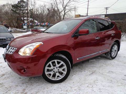 2012 Nissan Rogue for sale at Rusak Motors LTD. in Cleveland OH