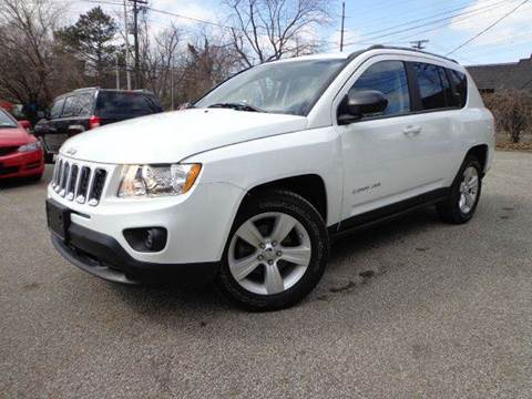 2013 Jeep Compass for sale at Rusak Motors LTD. in Cleveland OH