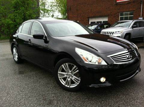 2012 Infiniti G37 for sale at Rusak Motors LTD. in Cleveland OH