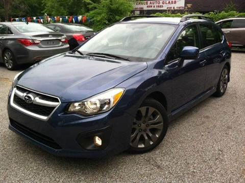 2013 Subaru Impreza for sale at Rusak Motors LTD. in Cleveland OH
