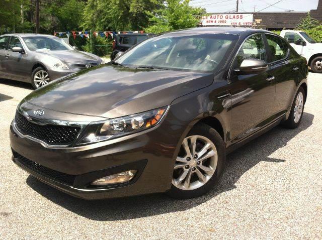 2012 Kia Optima for sale at Rusak Motors LTD. in Cleveland OH