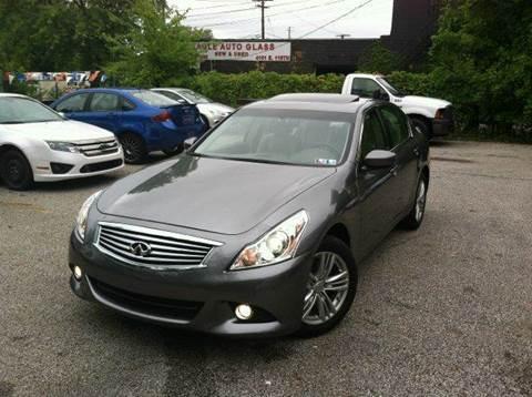 2012 Infiniti G37 Sedan for sale at Rusak Motors LTD. in Cleveland OH