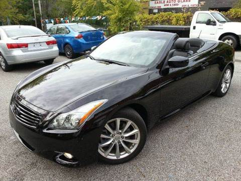 2012 Infiniti G37 Convertible for sale at Rusak Motors LTD. in Cleveland OH