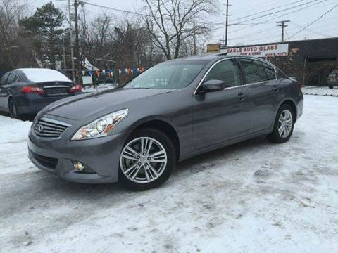 2013 Infiniti G37 Sedan for sale at Rusak Motors LTD. in Cleveland OH