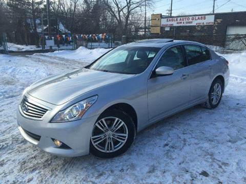 2012 Infiniti G37 Sedan for sale at Rusak Motors LTD. in Cleveland OH