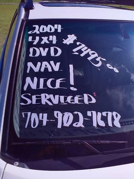 2004 Toyota Highlander AWD Limited 4dr SUV w/3rd Row - Statesville NC