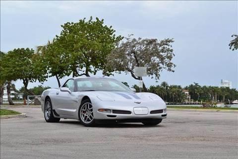 2002 Chevrolet Corvette for sale at Elite Auto Brokers in Oakland Park FL