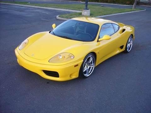 2001 Ferrari 360 Modena for sale at Elite Auto Brokers in Oakland Park FL