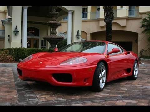 1999 Ferrari 360 Modena for sale at Elite Auto Brokers in Oakland Park FL