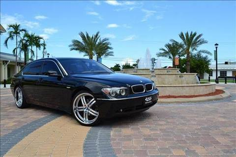 2005 BMW 7 Series for sale at Elite Auto Brokers in Oakland Park FL