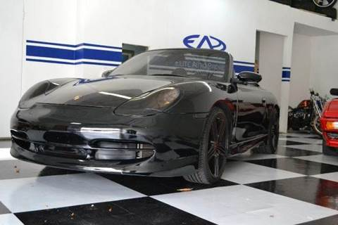 1999 Porsche 911 for sale at Elite Auto Brokers in Oakland Park FL