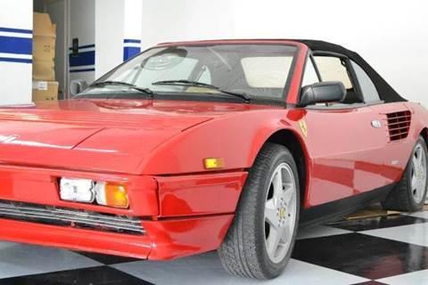 1985 Ferrari Mondial Cabriolet for sale at Elite Auto Brokers in Oakland Park FL