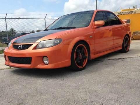 2003 Mazda Protege for sale at Elite Auto Brokers in Oakland Park FL