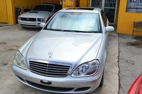 2003 Mercedes-Benz S-Class for sale at Elite Auto Brokers in Oakland Park FL