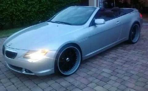 2005 BMW 6 Series for sale at Elite Auto Brokers in Oakland Park FL