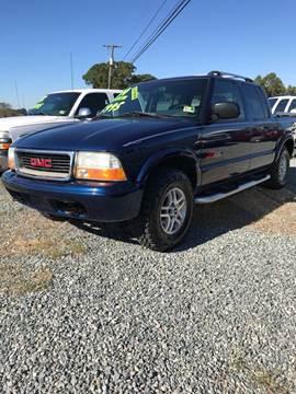 2004 GMC Sonoma for sale in Appomattox, VA