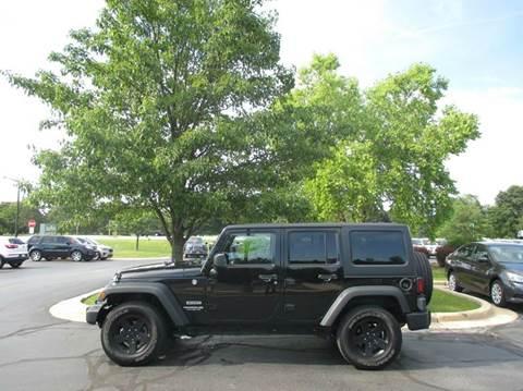 2015 Jeep Wrangler Unlimited for sale in Sturtevant, WI