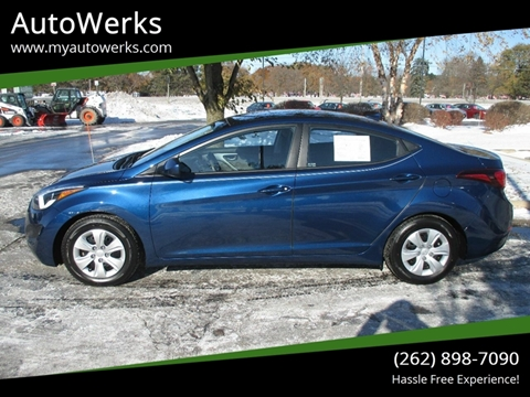 2016 Hyundai Elantra for sale in Sturtevant, WI