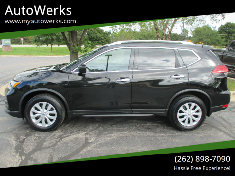 2017 Nissan Rogue for sale at AutoWerks in Sturtevant WI