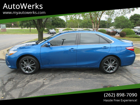 2017 Toyota Camry for sale at AutoWerks in Sturtevant WI