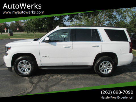 2019 Chevrolet Tahoe for sale at AutoWerks in Sturtevant WI