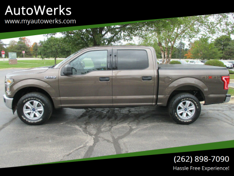 2017 Ford F-150 for sale at AutoWerks in Sturtevant WI