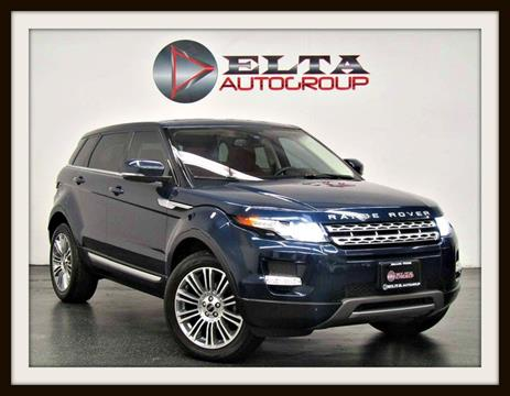 2012 Land Rover Range Rover Evoque for sale in Farmers Branch, TX