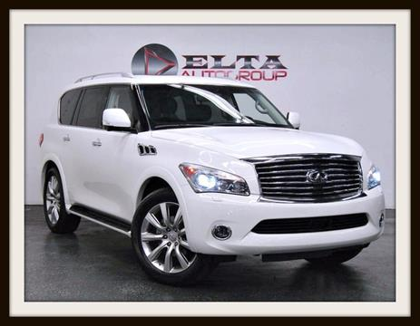 2011 Infiniti QX56 for sale in Farmers Branch, TX