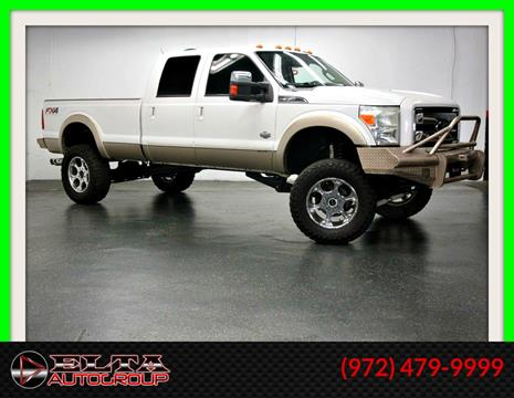 2012 Ford F-350 Super Duty for sale in Farmers Branch, TX